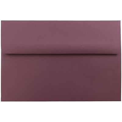 JAM Paper® A8 Invitation Envelopes, 5.5 x 8.125, Burgundy, 25/pack (36395845)