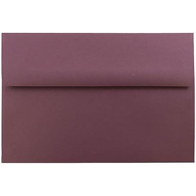 JAM Paper® A8 Invitation Envelopes, 5.5 x 8.125, Burgundy, 50/pack (36395845I)