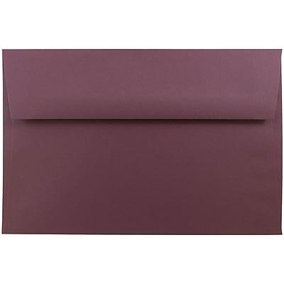JAM Paper® A9 Invitation Envelopes, 5.75 x 8.75, Burgundy, 1000/carton (6395844B)