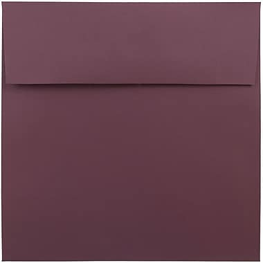 JAM Paper® 8.5 x 8.5 Square Envelopes, Burgundy, 25/pack (36395841)