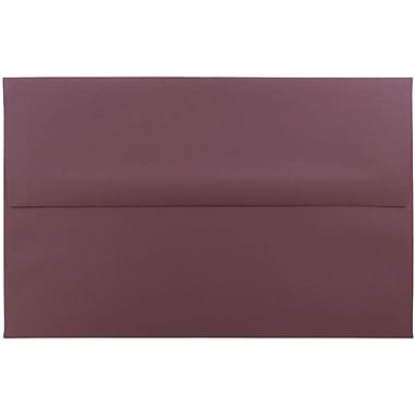 JAM Paper® A10 Invitation Envelopes, 6 x 9.5, Burgundy, 25/pack (36395842)