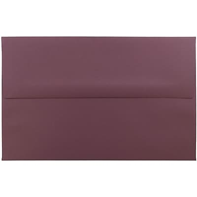 JAM Paper® A10 Invitation Envelopes, 6 x 9.5, Burgundy, 250/box (36395842H)
