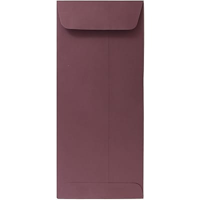 JAM Paper® #10 Policy Envelopes, 4 1/8 x 9 1/2, Burgundy, 1000/carton (36396161B)