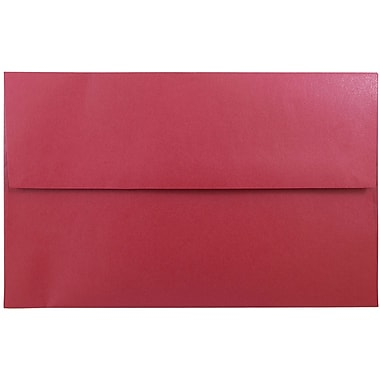 JAM Paper® A10 Invitation Envelopes, 6 x 9.5, Stardream Metallic Jupiter Red, 1000/carton (22400B)
