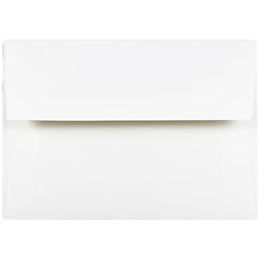 JAM Paper® A7 Invitation Envelopes, 5.25 x 7.25 Strathmore Bright White Wove, 1000/carton (STTW711B)