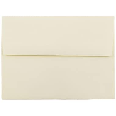 JAM Paper® A6 Invitation Envelopes, 4.75 x 6.5, Strathmore Ivory Wove, 25/pack (900913185)