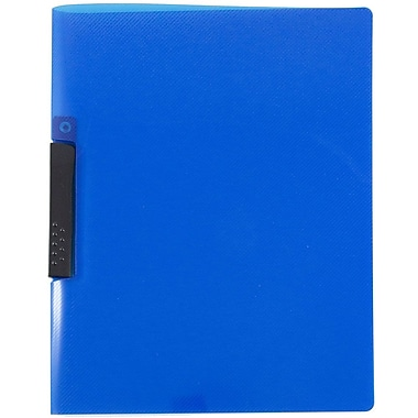 JAM Paper® Report Cover with Swing Lock Closure, Solid Blue, Sold Individually (2252821)