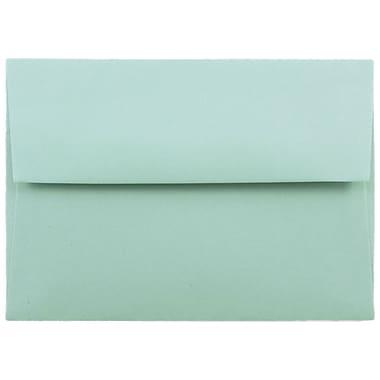 JAM Paper® A2 Invitation Envelopes, 4 3/8 x 5 3/4, Aqua Blue, 1000/carton (1523981B)