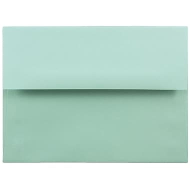 JAM Paper® A6 Invitation Envelopes, 4.75 x 6.5, Aqua Blue, 1000/carton (157460B)