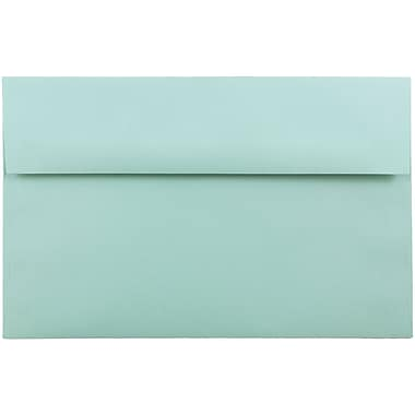 JAM Paper® A10 Invitation Envelopes, 6 x 9.5, Aqua Blue, 250/box (1523993H)