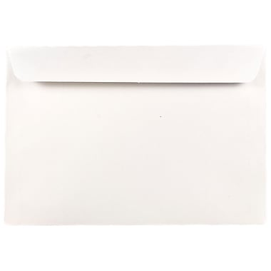 JAM Paper® 7 x 10 Booklet Envelopes, White, 25/pack (5528)