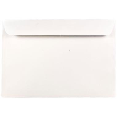 JAM Paper® 7.5 x 10.5 Booklet Envelopes, White, 25/pack (4246)