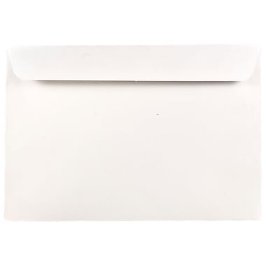 JAM Paper® 8.75 x 11.5 Booklet Envelopes, White, 1000/carton (12286B)