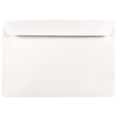 JAM Paper® 8.75 x 11.5 Booklet Envelopes, White, 25/pack (12286)
