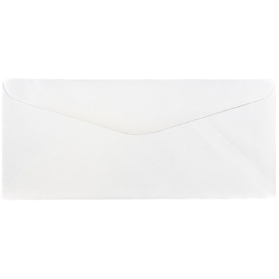 JAM Paper® #14 Business Commercial Envelopes, 5 x 11.5, White, 25/pack (53273)