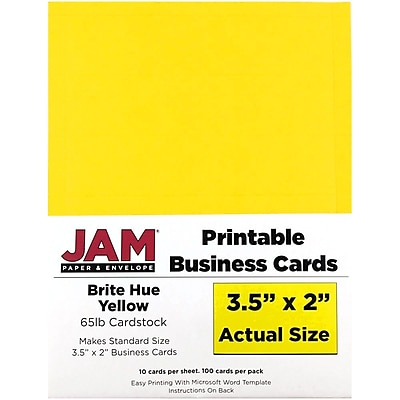 Personalized Business Cards Staples