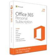 Microsoft – Logiciel Office 365 Personal, 1 PC ou Mac + 1 tablette, abonnement d'un an, anglais