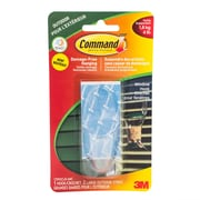 Command Window Hook with all Weather Strips, Large, Clear