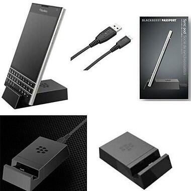 BlackBerry - (ACC-60407-001) Socle de synchronisation et de recharge pour BlackBerry Passport, noir
