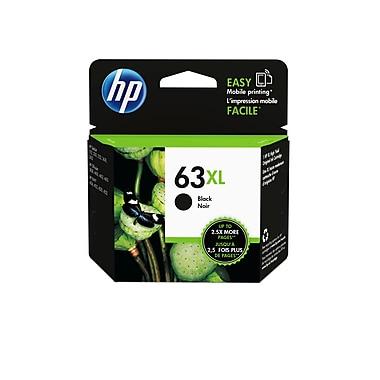 HP 63XL Cartouche d'encre noire à rendement élevé d'origine (F6U64AN)