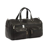 Claire Chase Leisure 20'' Weekender Duffel; Black