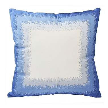 Blissliving Home Mexico City Bordado Cotton Throw Pillow