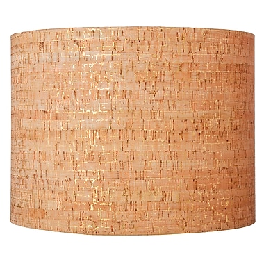 Ziqi Home 16'' Natural Cork Drum Lamp Shade