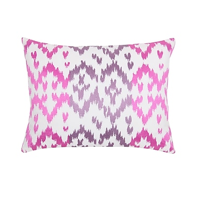 Blissliving Home Easter Island Ikat Decorative Throw Pillow