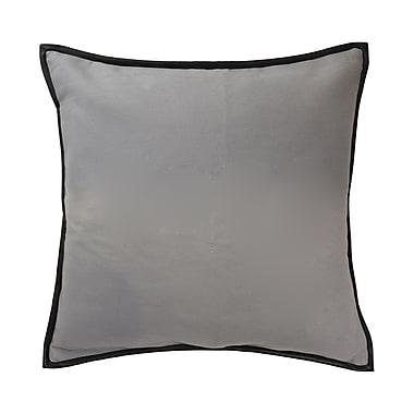 Blissliving Home Mexico City Estevan Cotton Throw Pillow; Gray