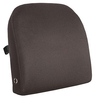 Comfort® Black Memory Foam Back Support Massage Cushion