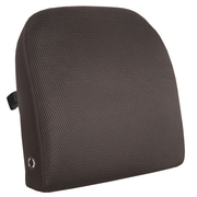 Comfort® Black Memory Foam Back Support Massage Cushion