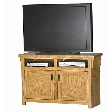 Eagle Furniture Manufacturing Mission 50'' TV Stand; Light Oak