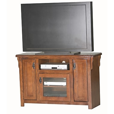 Eagle Furniture Manufacturing Mission 49.5'' TV Stand; Chocolate Mousse