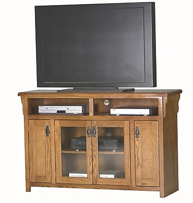Eagle Furniture Manufacturing Mission 56'' TV Stand; Chocolate Mousse