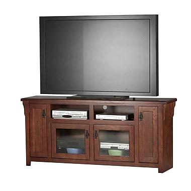 Eagle Furniture Manufacturing Mission 70'' TV Stand; Medium Oak