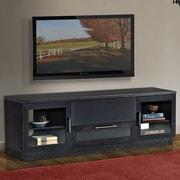 Furnitech Contemporary TV Stand; Ebony
