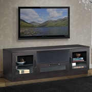 Furnitech Contemporary TV Stand; Wenge