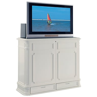 TVLIFTCABINET, Inc Crystal Pointe 56.5'' TV Stand; White