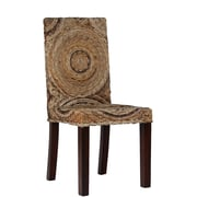Ibolili Circles Banana Leaf Parsons Chair