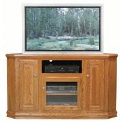 Eagle Furniture Manufacturing Classic Oak TV Stand; Chocolate Mousse