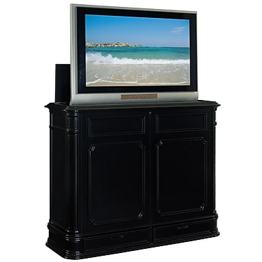 TVLIFTCABINET, Inc Crystal Pointe 56.5'' TV Stand; Black