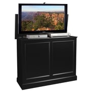 TVLIFTCABINET, Inc Carousel TV Stand; Black