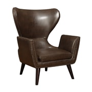 Wildon Home   Nailhead Wingback Chair