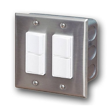 Infratech In-Wall Double Duplex Switch