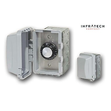 Infratech INF In-Wall Waterproof Control Thermostat