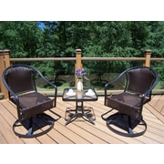 Oakland Living Tuscany 3 Piece Lounge Seating Group Set