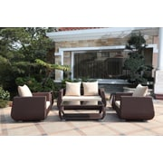 Ceets Bistre 6 Piece Deep Seating Group w/ Cushions