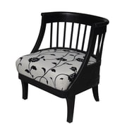 Carolina Accents Tiffany Fabric Barrel Chair