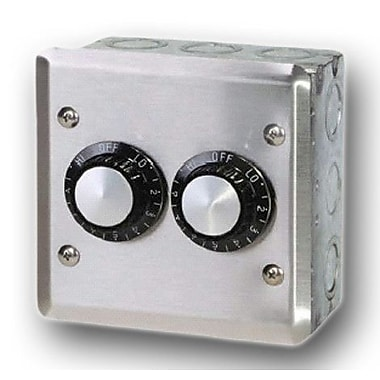 Infratech INF Double In-Wall Control Thermostat