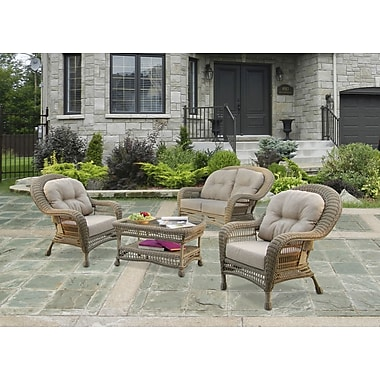W Unlimited Saturn 5 Piece Seating Group Set with Cushion
